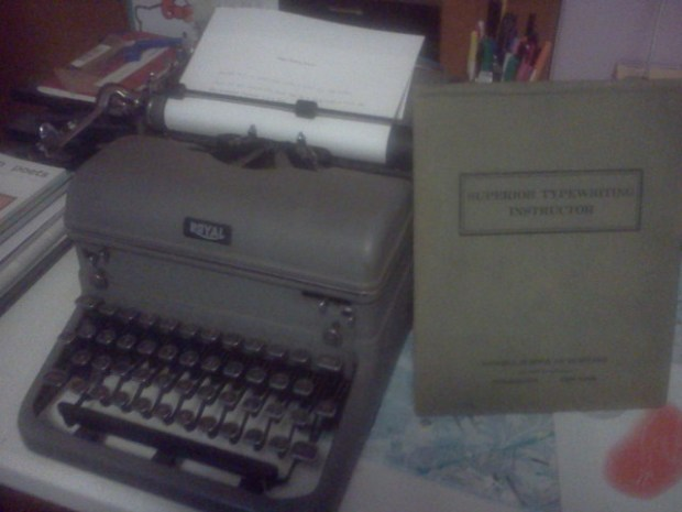 New Year's Royal Typewriter