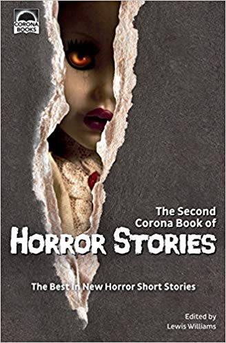 Corona Book of Horror Stories two cover shot