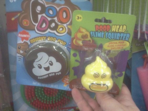 Poop Head Slime Squirter and Squichy Poo Doo