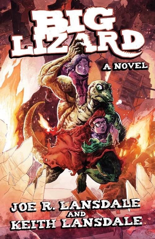 Big Lizard cover shot